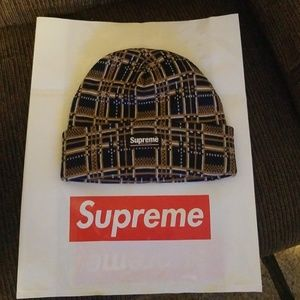 Supreme winter hat from latest drop.
